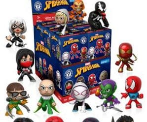 Classic Spider-Man Mystery Minis are hitting stores soon! Exclusive pictures.