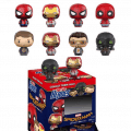 Japan Exclusive Metallic Iron Man and Spider Man Pint Size Heroes