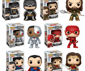 New Funko Pop! Movies: Justice League