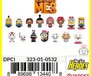 Target exclusive Despicable Me 3 pint size heroes DPCI