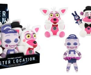Coming Soon: Five Nights at Freddy's Sister Location Plush!