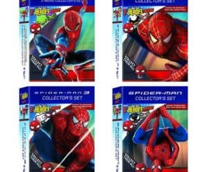 Available Now: Walmart Exclusive Spider-Man Pint Size Hero DVD Packs!