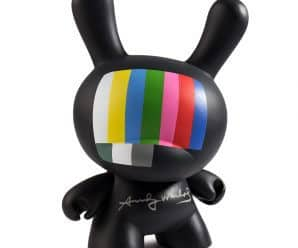 Kidrobot Releases Andy Warhol 3″ Dunny Blind Box Mini Series 2.0 & Andy Warhol 8″ Masterpiece TV Dunny