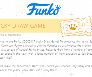 Funko SDCC 2017 Lucky Draw Game (By Funko)