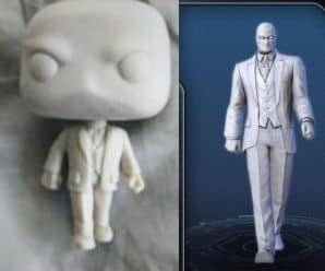 Prototype of Funko Pop! Moon Knight in Mr. Knight Spotted