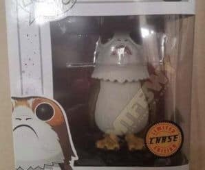 The Last Jedi Open Mouth Funko Pop! Porg Chase Spotted!