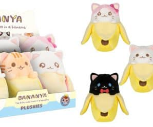 Coming Soon: Bananya Plushies, & Vinyl!