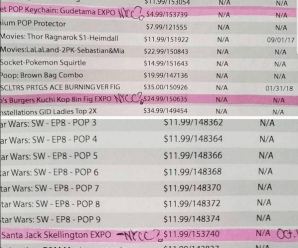 Funko Pop! Possible NYCC 2017 Leaks