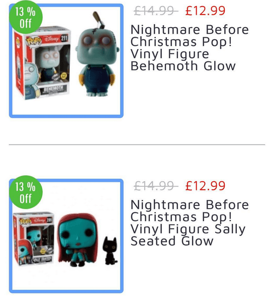 Disney Sally and Behemoth (Walgreens exclusive in the US) Funko pop!s are up for sale online at Forbidden Planet!