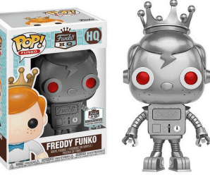Funko Pop! Funko reveals another exclusive for their HQ! It's Silver Robot Freddy!