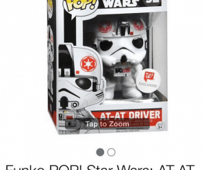 Funko Pop! Star Wars At-At Driver (Back in stock)
