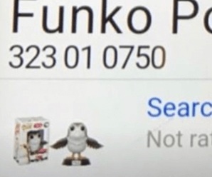 Funko Pop! Star Wars EP8 Porg with Wings (First look)